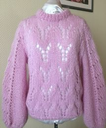ITALY julie sweater lila